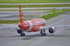 Aviões de Air Asia Imagem de Stock Royalty Free