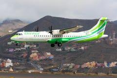 Aviões de Binter Canarias em Tenerife Fotos de Stock Royalty Free