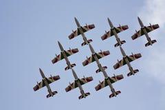 Aviões de combate Imagem de Stock Royalty Free