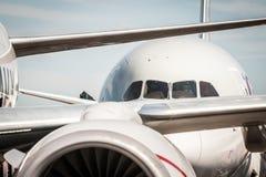 Aviões de jato Imagem de Stock Royalty Free