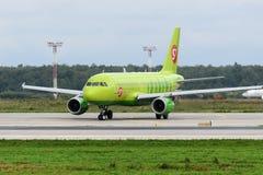 Aviões de jato de Airbus A319 Imagens de Stock
