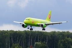 Aviões de jato de Airbus A319 Foto de Stock