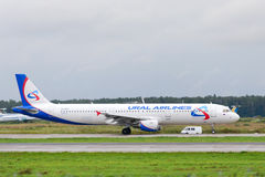 Aviões de jato de Airbus A321 Fotografia de Stock