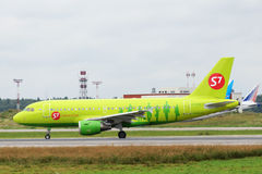 Aviões de jato de Airbus A319 Imagem de Stock