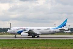 Aviões de jato de Airbus 320-200 Foto de Stock