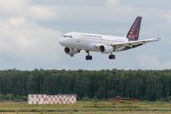Aviões de jato de Airbus A319 Fotos de Stock Royalty Free