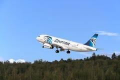 Aviões de jato de Airbus A319 Fotografia de Stock