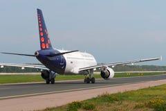 Aviões de jato de Airbus A320 Fotos de Stock