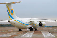 Aviões de jato regionais de Antonov An-148 Foto de Stock Royalty Free