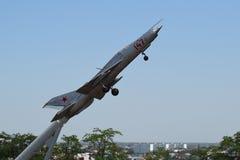 Aviões de lutador imagem de stock