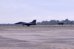 Aviões de lutador malaios reais das forças aéreas Imagens de Stock Royalty Free