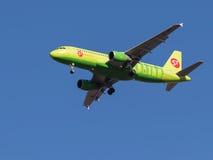 Aviões de passageiro Airbus A320 Imagens de Stock Royalty Free