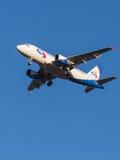 Aviões de passageiro Airbus A319 Fotos de Stock