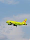 Aviões de passageiro Airbus A319-114 Imagens de Stock