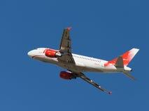 Aviões de passageiro de Airbus A319-111 Imagem de Stock