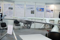 Aviões de reconhecimento 2nãos pilotado na exposição Fotos de Stock
