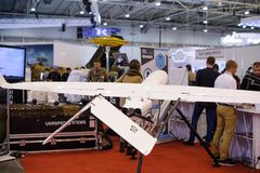 Aviões de reconhecimento 2nãos pilotado na exposição Fotografia de Stock Royalty Free
