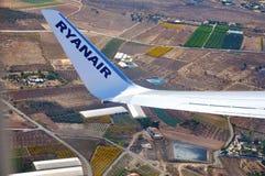 Aviões de Ryanair fotografia de stock
