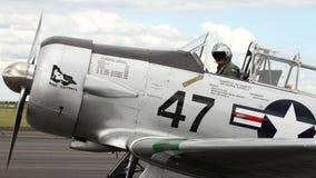 Aviões de SNJ-5B Harvard Warbird Fotografia de Stock Royalty Free