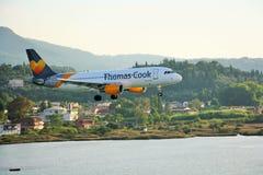 Aviões de Thomas Cook Fotos de Stock