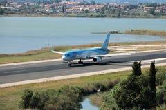 Aviões de TUI Airways imagens de stock
