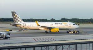 Aviões de Vueling Airlines Fotos de Stock