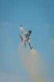 Aviões diplay de solo do F16 da força aérea turca Fotos de Stock