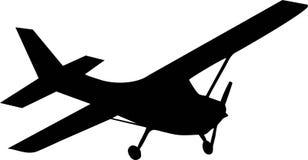 Aviões do biplano ilustração royalty free