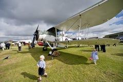 Aviões do tempo da segunda guerra mundial Foto de Stock