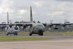 Aviões do transporte Fotografia de Stock