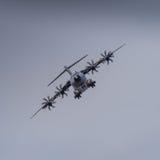 Aviões do transporte de Miltary em voo Imagem de Stock Royalty Free