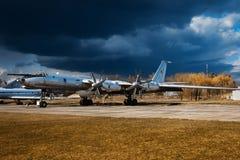 Aviões do urso do Tupolev Tu-142M3 Fotografia de Stock