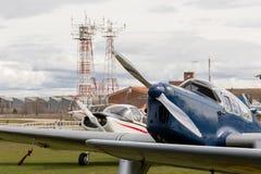 Aviões do vintage Foto de Stock