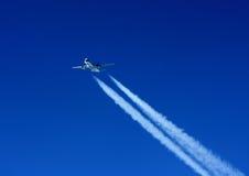 Aviões e fuga Foto de Stock