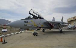 Aviões F-14A Tomcat fotografia de stock