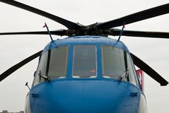 Aviões - helicóptero militar Fotos de Stock
