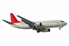 Aviões isolados Foto de Stock Royalty Free