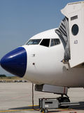 Aviões na terra Fotografia de Stock Royalty Free