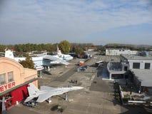 Aviões no museu da técnica em Speyer Fotos de Stock Royalty Free