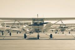 Aviões pequenos Fotografia de Stock Royalty Free