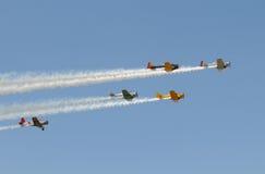 Aviões velhos Foto de Stock