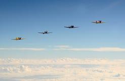 Aviões velhos da hélice Fotos de Stock Royalty Free