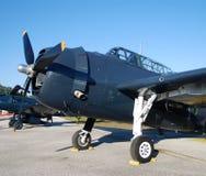 Aviões velhos da marinha Imagem de Stock