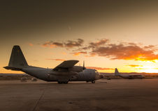 Aviões VI de Hercules imagens de stock royalty free