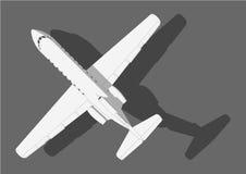 Aviões Yak-40 Fotos de Stock Royalty Free