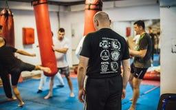 Avi Nardia Kapap Krav Maga Street Self Defence Seminar Belgrade Stock Images