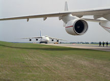 Aviação, civil, militar Imagens de Stock