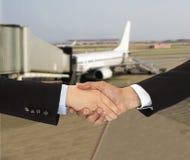 Aviação do negócio fotografia de stock