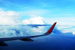 Aviação e opinião do céu Fotografia de Stock Royalty Free