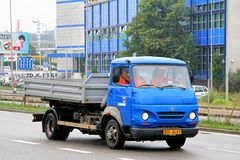 Avia A31. Brno, Czech Republic - July 22, 2014: Dump truck Avia A31 in the city street Royalty Free Stock Image